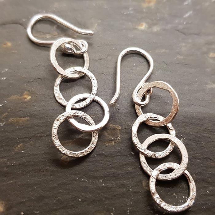 Multi Link Earrings