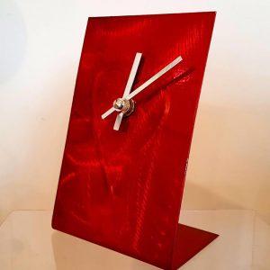 Small Standing Clock Heart