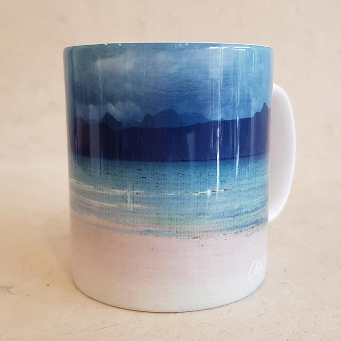 Skye and Raasay from Applecross Mug