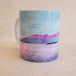 Arran over Sound of Bute Mug
