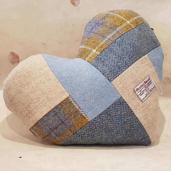 Mrs Tweedy Heart Shaped Cushion