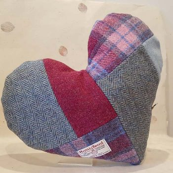 Mrs Tweedy Heart Shaped Cushion