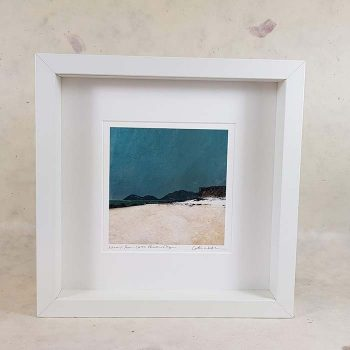 Harris from Coral Beach Skye Framed Print
