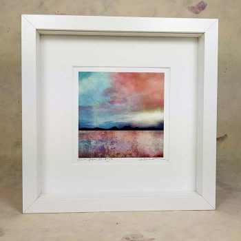 Jura from Mull of Kintyre Framed Print