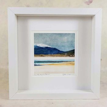 Winter Luskentyre , Isle of Harris Framed Print