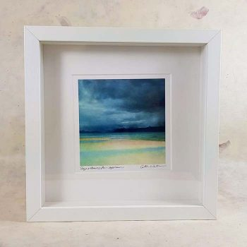 Skye & Raasy from Applecross Framed Print