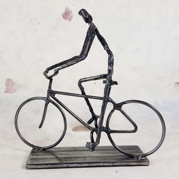 Metal Sculpture, Cyclist