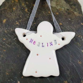 Healing Ceramic Angel