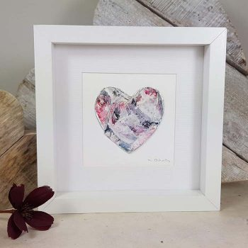 Framed Heart Collage