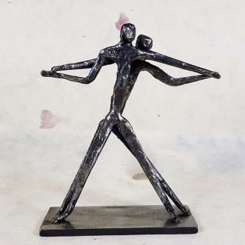 Metal Sculpture, Lovers Dancing