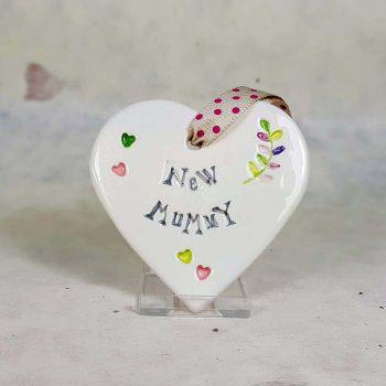 New Mummy Ceramic Heart