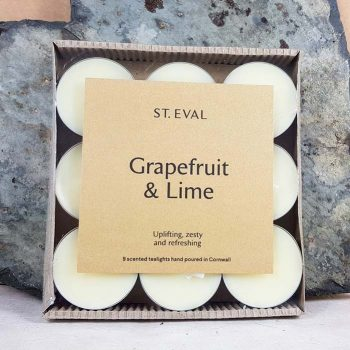 Grapefruit And Lime Scented Tea Lights