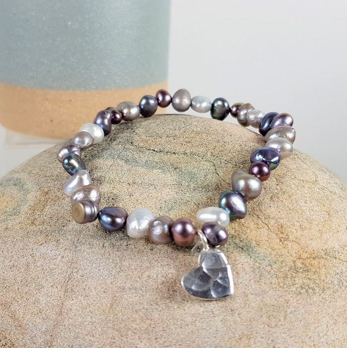 MIXED FRESHWATER PEARL BRACELET