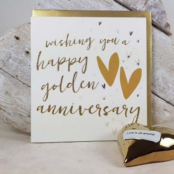 Golden Wedding Anniversary Wishes