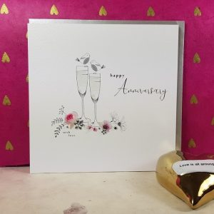 HAPPY WEDDING ANNIVERSARY CHAMPERS
