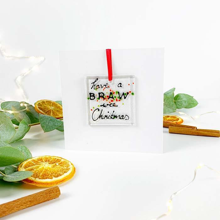 Braw Wee Christmas Card
