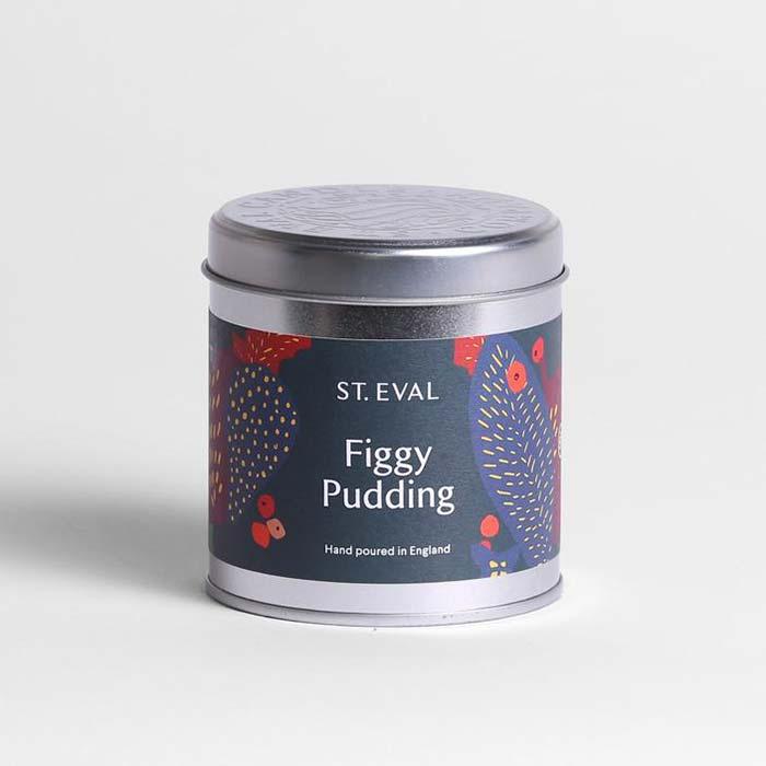 Figgy Pudding Candle Tin