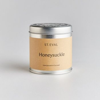 HONEYSUCKLE SCENTED CANDLE TIN