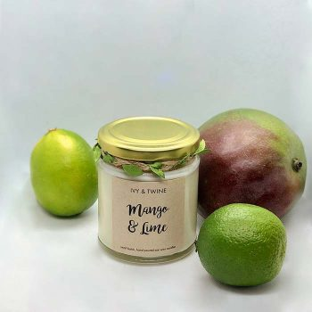 Mango and Lime Candle
