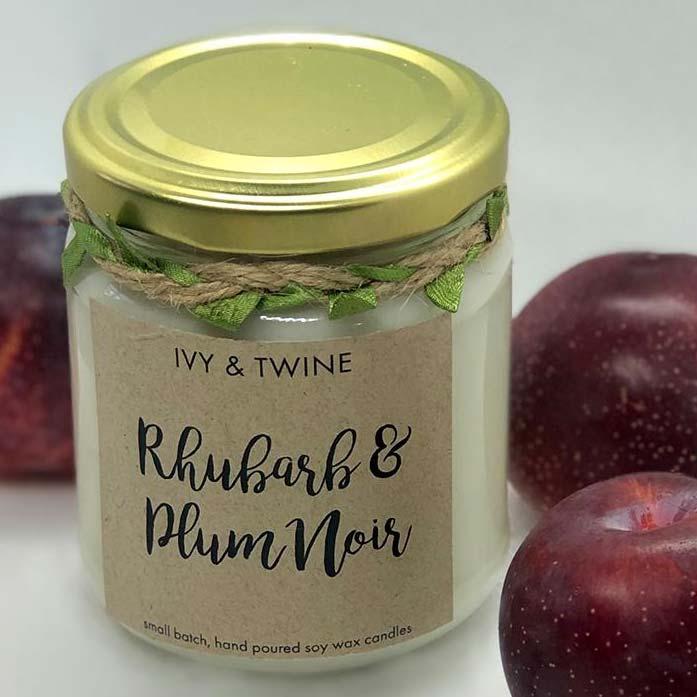Rhubarb & Plumb Noir Candle