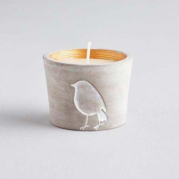Inspiritus Scented Robin Candle Pot