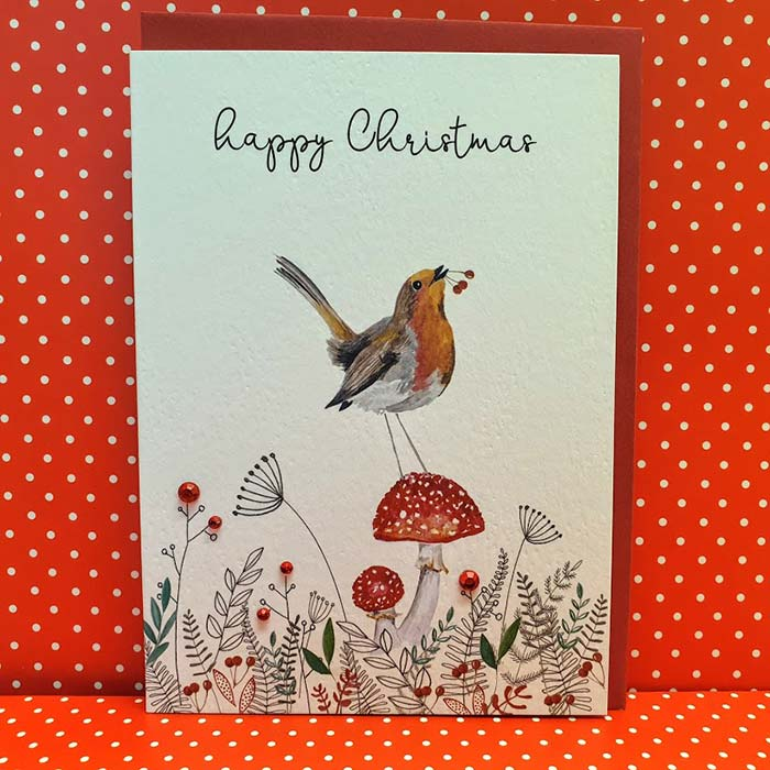 Happy Christmas Robin