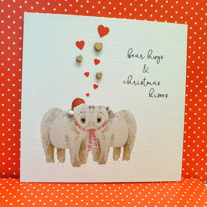 Bear Hugs And Christmas Kisses
