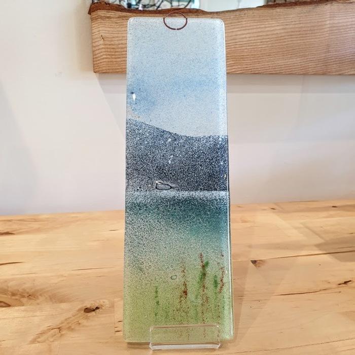 GLASS HANGING PANEL LAKESIDE