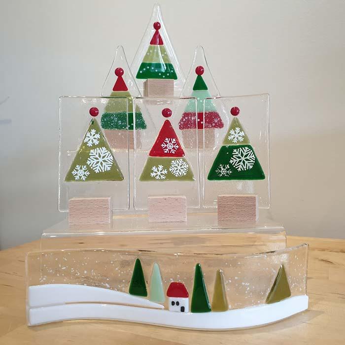 Christmas Collection Glass Range