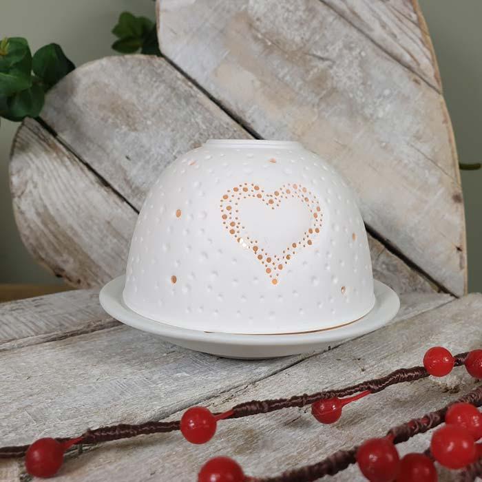 Porcelain Dome Tealight Holder