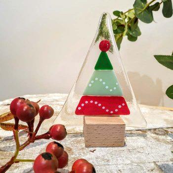 Christmas Tree Panel Bauble