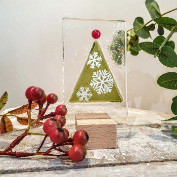 Christmas Tree Panel Snowflake