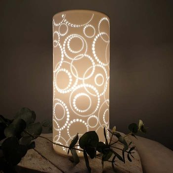 Porcelain Column Lamp