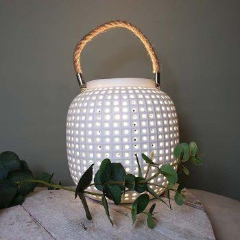 Porcelain Lantern Lamp