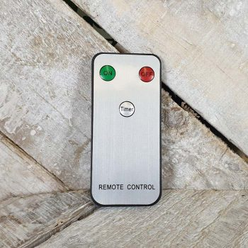 Remote Control For Set Of 3 Flickering Candles