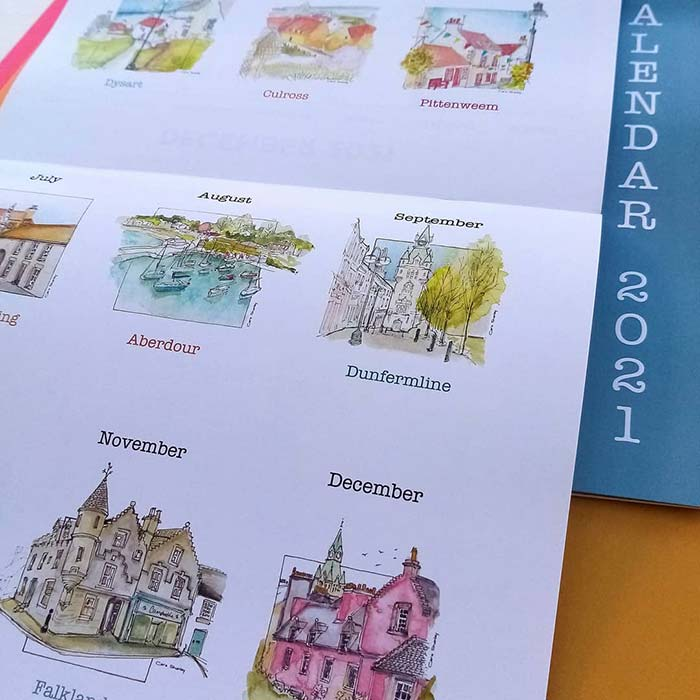 Sketching Fife Calendar 2021