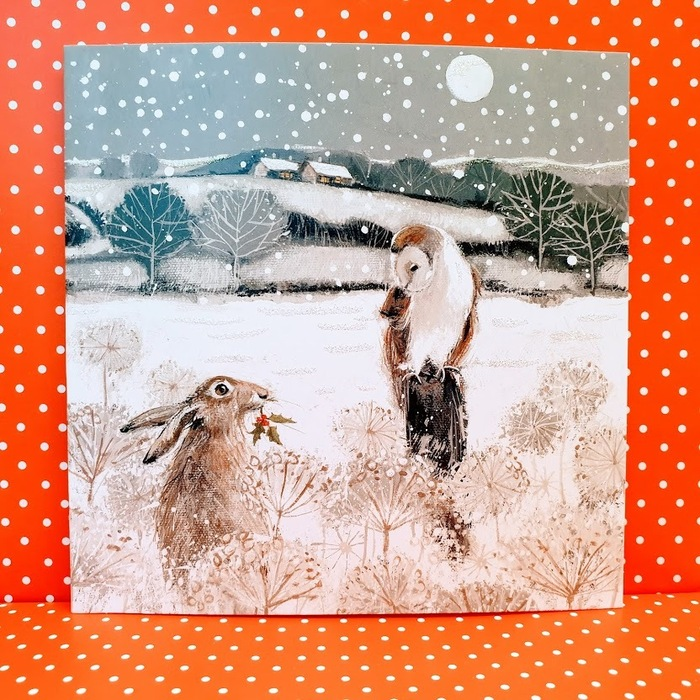 WINTER WONDERLAND pack of 6 Charity Cards