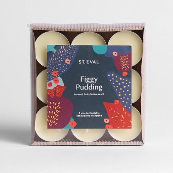 FIGGY PUDDING TEALIGHTS