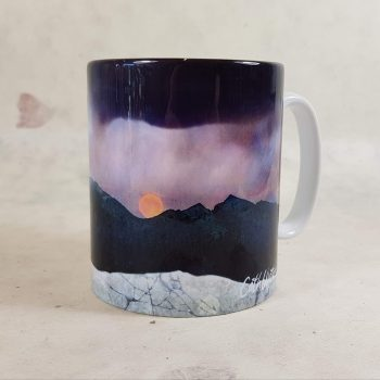Strawberry Moon Isle of Skye Ceramic Mug