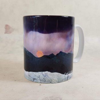Strawberry Moon Isle of Skye Ceramic Mug