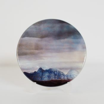 The Cuillins Isle of Skye Ceramic Coaster