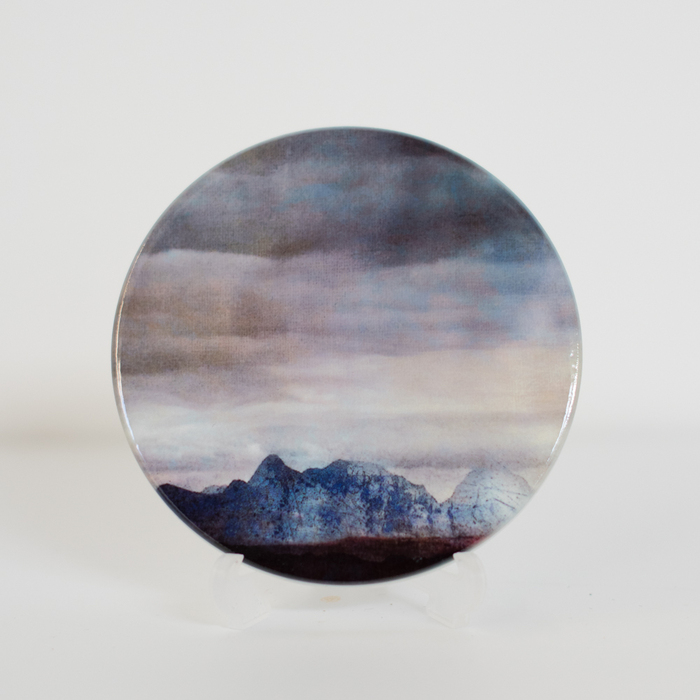 The Cuillins Isle of Skye Ceramic Coaster