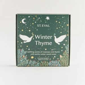 WINTER THYME SCENTED TEA LIGHTS