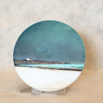 Winter Luskentyre , Isle of Harris Ceramic Coaster