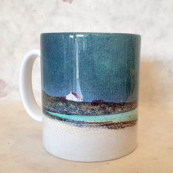 Winter Luskentyre , Isle of Harris Ceramic Mug