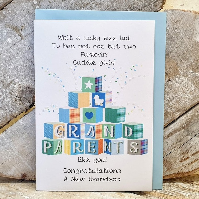BECOMING A GRANDPARENT CARD