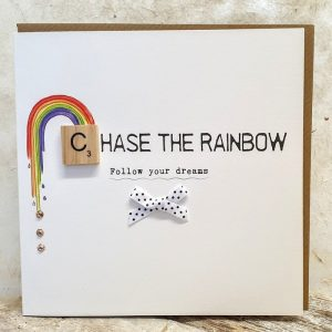 CHASE THE RAINBOW CARD