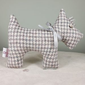 HARRIS TWEED LAVENDER SCOTTIE DOG