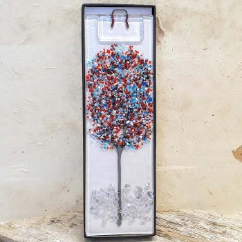 Fused Glass Tree Hanging