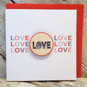 LOVE Valentines Card